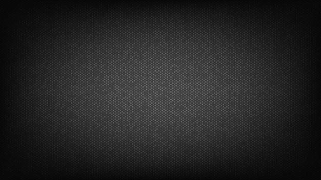 Czarne tło. projekt okładki streszczenie z koła. Premium Wektorów