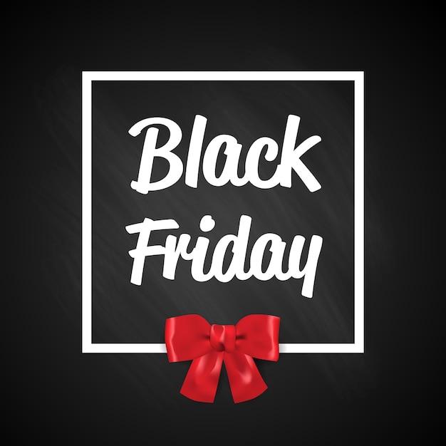 Czarny Piątek Oferta Specjalna Super Sprzedaż Kwadratowy Baner Premium Wektorów