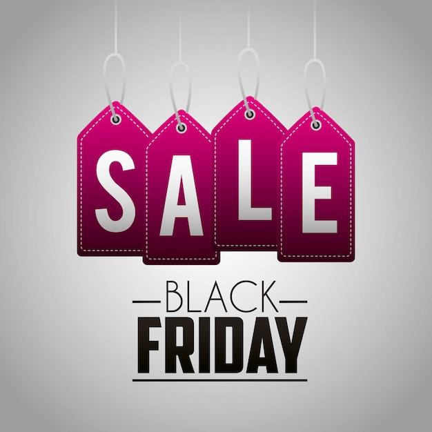 Czarny Piątek Zakupy Sprzedaży Tło Darmowych Wektorów