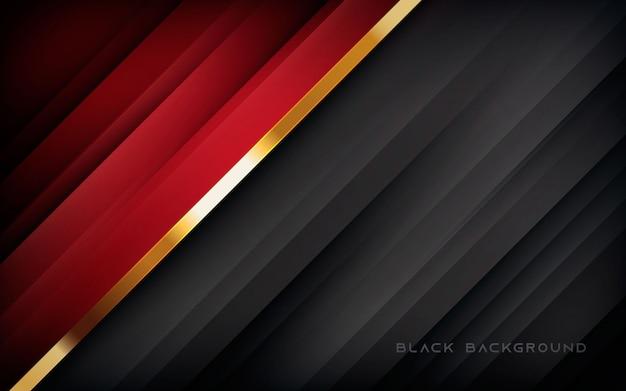 Czerwone I Czarne Tło Przekątnej Streszczenie Tekstura Premium Wektorów