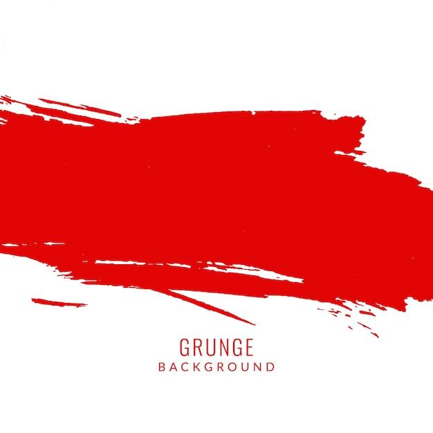 Czerwony kolor grunge plama tle Darmowych Wektorów