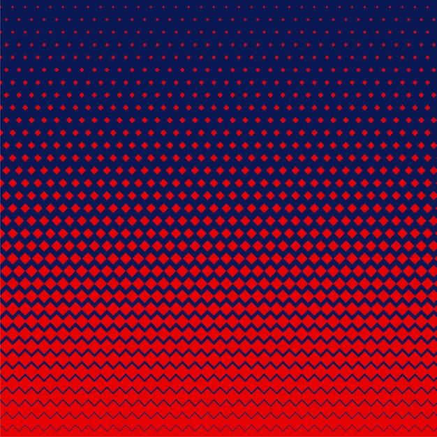 Czerwony romb kształt półtonów tło Darmowych Wektorów