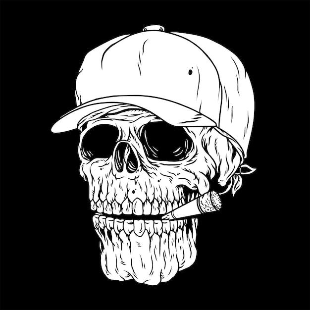 Człowiek Czasu, Palenie Zabije Ciebie Premium Wektorów
