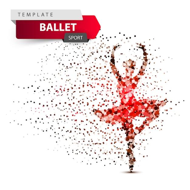 Dancingowa dziewczyny ilustracja Premium Wektorów