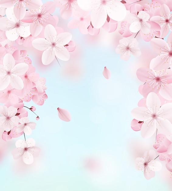 Delikatny kwiatowy wzór. Premium Wektorów