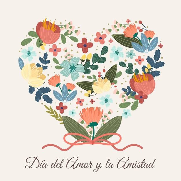 Día Del Amor Y Amistad Darmowych Wektorów