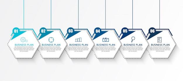 Diagramy biznesowe są wykorzystywane w badaniach biznesowych i projektowaniu Premium Wektorów
