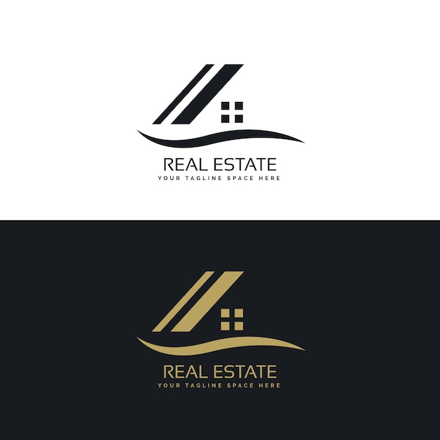 Dom Logo Projekt Koncepcji Wektora Darmowych Wektorów