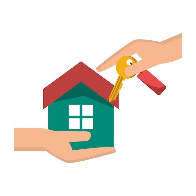 Dom nieruchomości Premium Wektorów