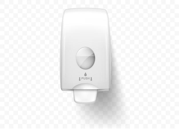 Dozowniki Mydła W Płynie, Realistyczne Na Białym Tle Darmowych Wektorów
