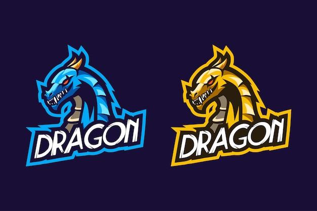 Dragon Niesamowite Projektowanie E-sportu Premium Wektorów