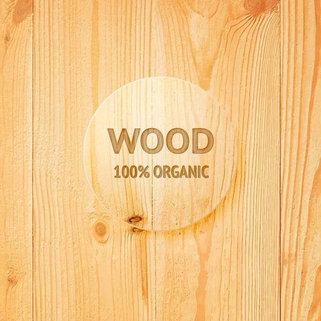 Drewniane Tekstury Ze Szklanym Obiektywem Darmowych Wektorów