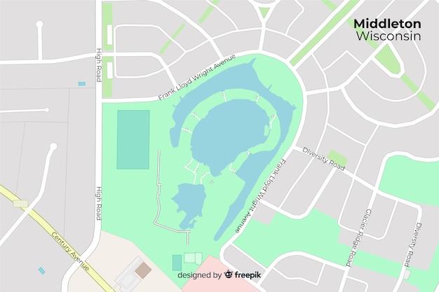 Dyrektywa Kolorowa Koncepcja Mapy Darmowych Wektorów