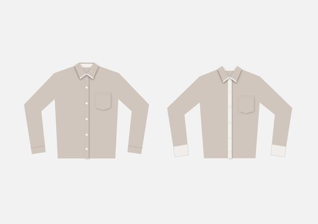 Działający Jednolity Szablon Koszulki Polo. Premium Wektorów