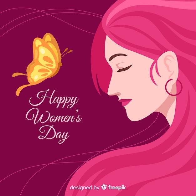 Dzień kobiet Darmowych Wektorów