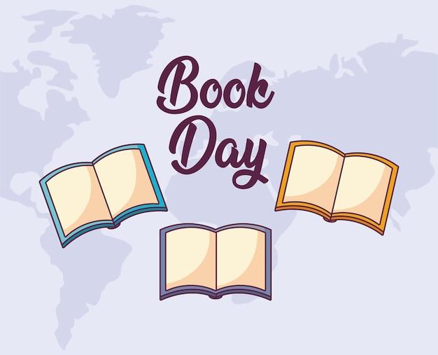Dzień książki międzynarodowy Premium Wektorów