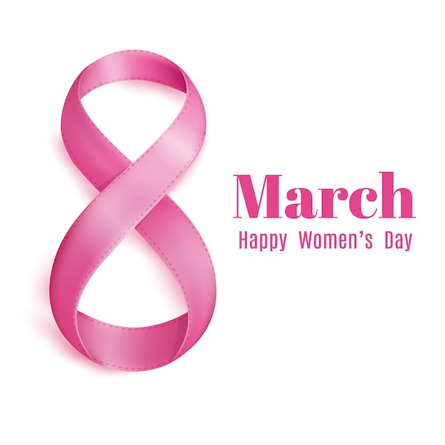 Dzień matki 8 marca kartkę z życzeniami Darmowych Wektorów