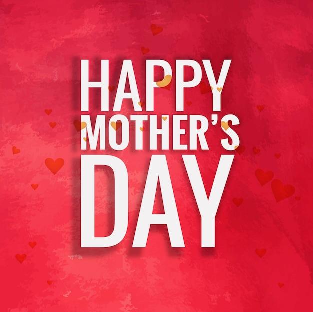 Dzień Matki W Tle Darmowych Wektorów