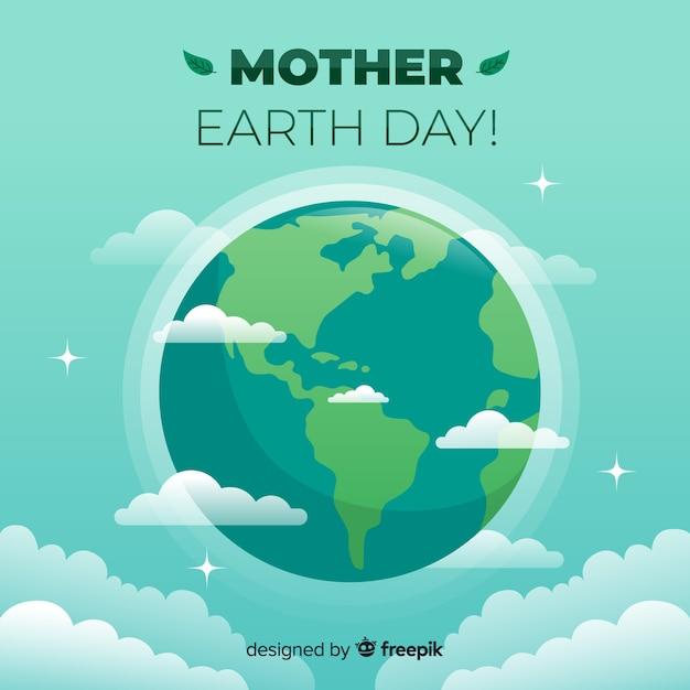 Dzień Matki Ziemi Premium Wektorów