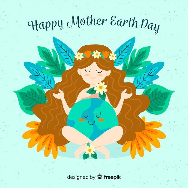 Dzień Matki Ziemi Darmowych Wektorów