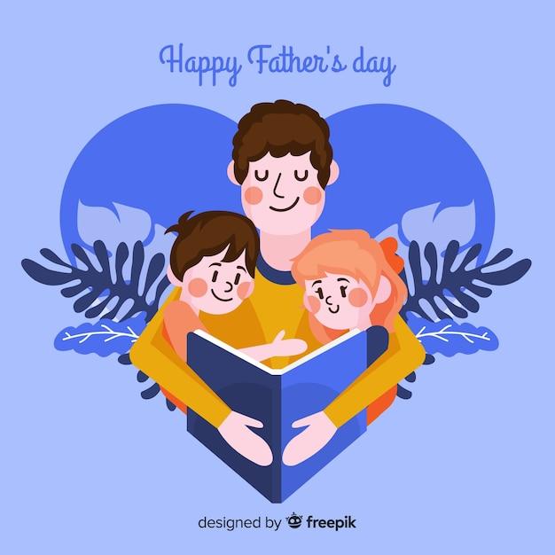 Dzień ojca Darmowych Wektorów