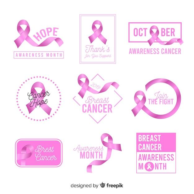 Dzień świadomości Na Dzień Raka Piersi Darmowych Wektorów