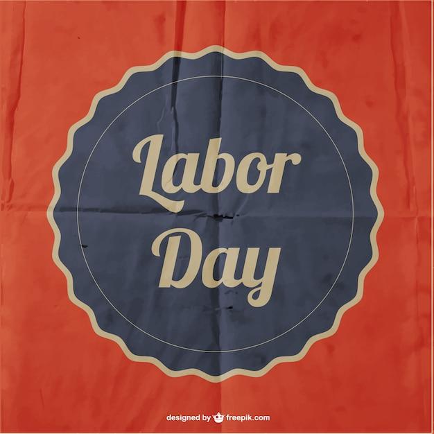 Dzień Wektor Papieru Plakat świata Pracy Darmowych Wektorów