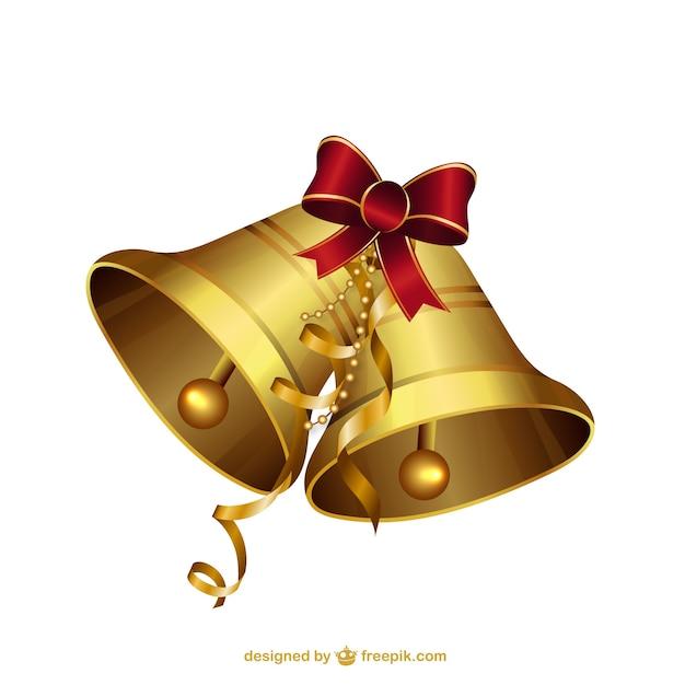 Dzwonki świąteczne Ilustracje Darmowych Wektorów