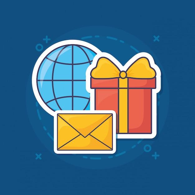 E-mail marketing Premium Wektorów
