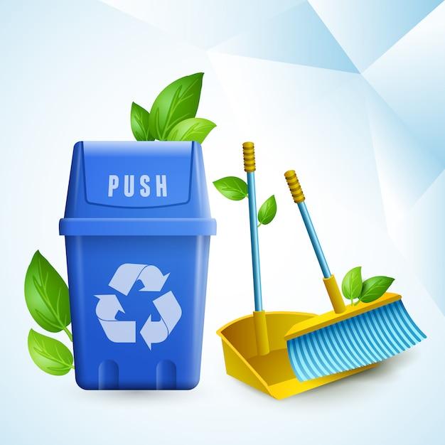 Eco Cleaning Darmowych Wektorów