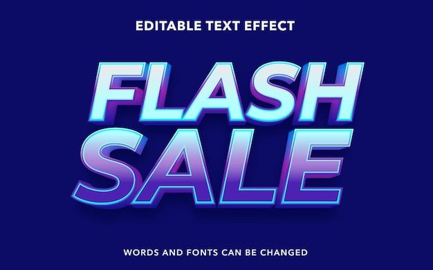 Edytowalny Efekt Tekstowy Do Sprzedaży Błyskawicznej Premium Wektorów
