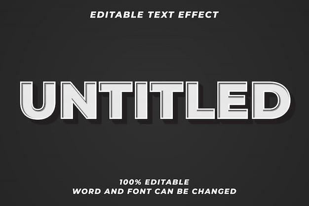 Efekt Starego Stylu Tekstu Premium Wektorów