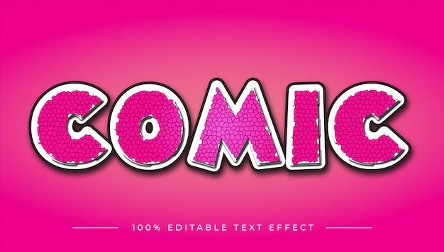 Efekt Tekstowy Komiks Kreskówka Premium Wektorów