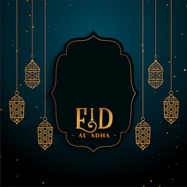 Eid al adha islamskie święto festiwalu Darmowych Wektorów