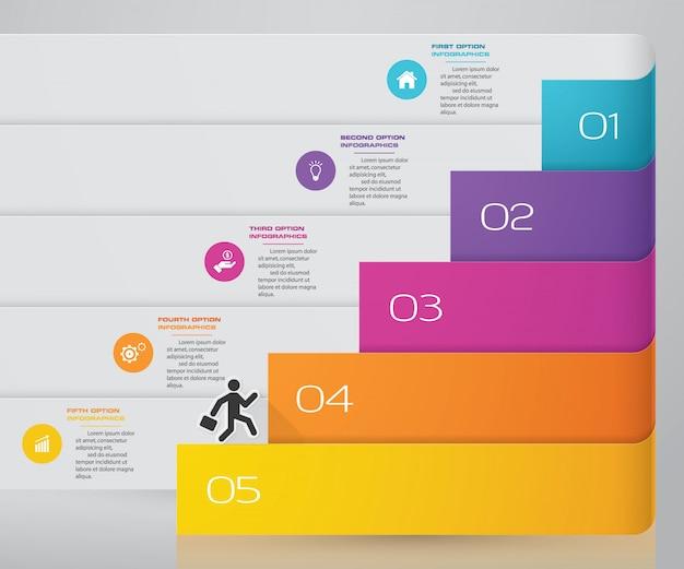 Element Plansza Wykresu Premium Wektorów