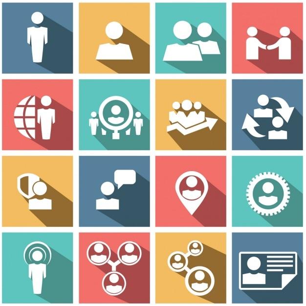 Elementy biznes Darmowych Wektorów