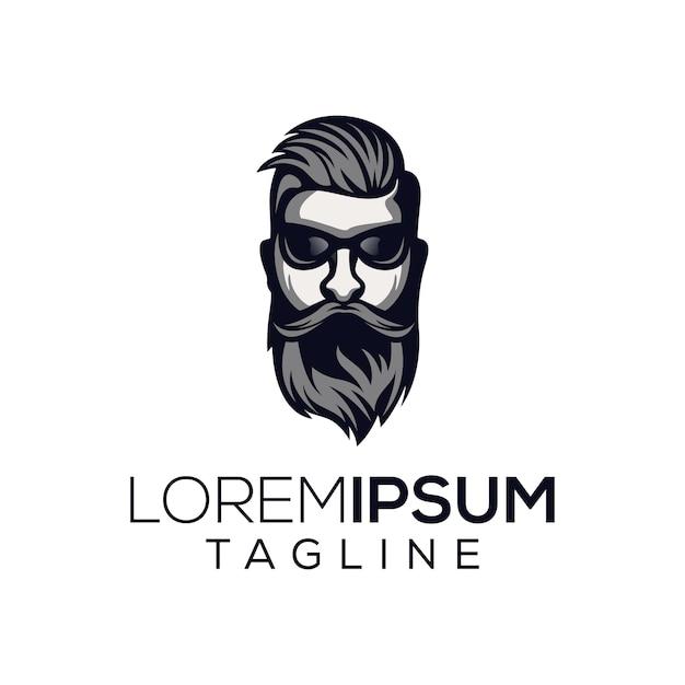 Fajne Logo Człowieka Premium Wektorów