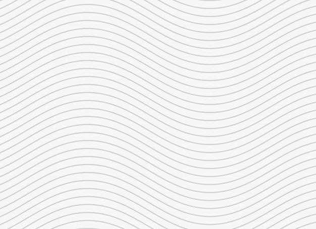 Faliste gładkie linie wzór tła Darmowych Wektorów
