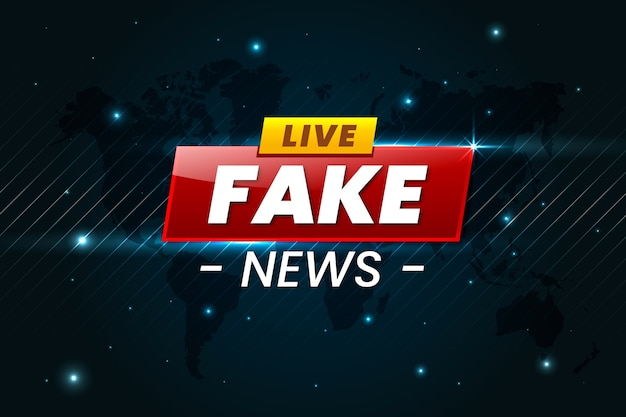 Fałszywe Wiadomości Darmowych Wektorów