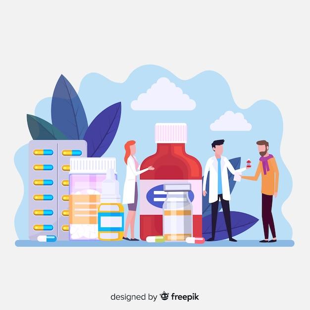Farmaceuci Darmowych Wektorów