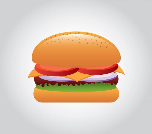 Fast Food Premium Wektorów