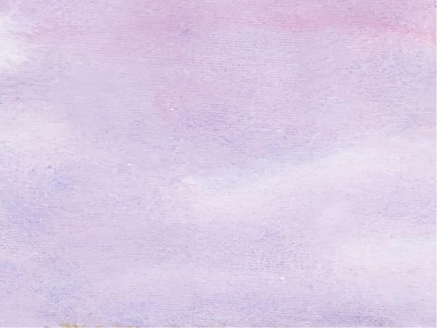 Fioletowy Kolor Streszczenie Tło Akwarela, Farby Ręczne. Kolor Rozpryskiwania Się Na Papierze. Premium Wektorów