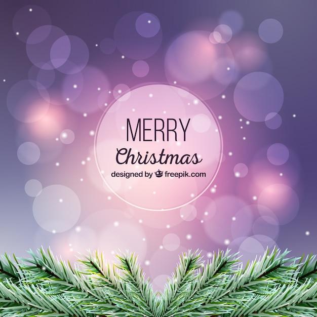 Fioletowy Niewyraźne Tło Boże Narodzenie Darmowych Wektorów