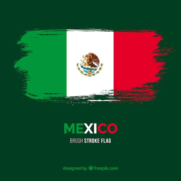 Flaga Meksyku Darmowych Wektorów