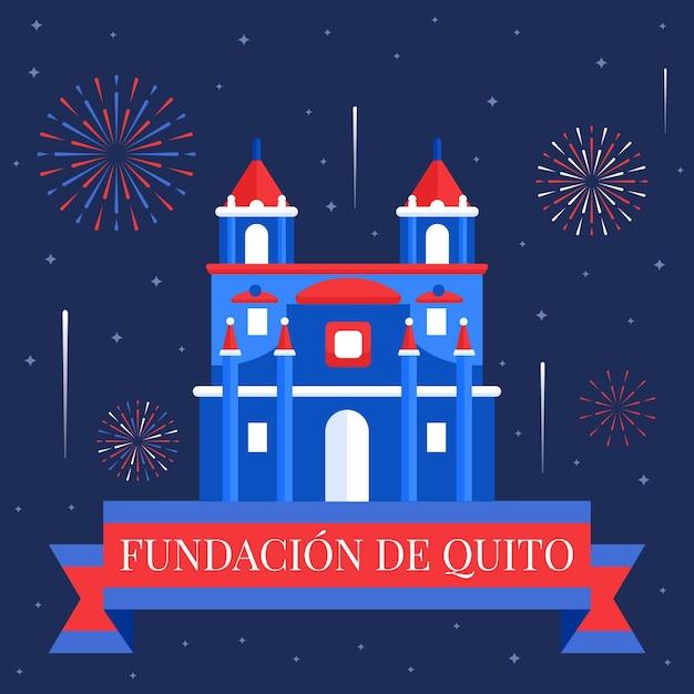 Fundacion De Quito Darmowych Wektorów