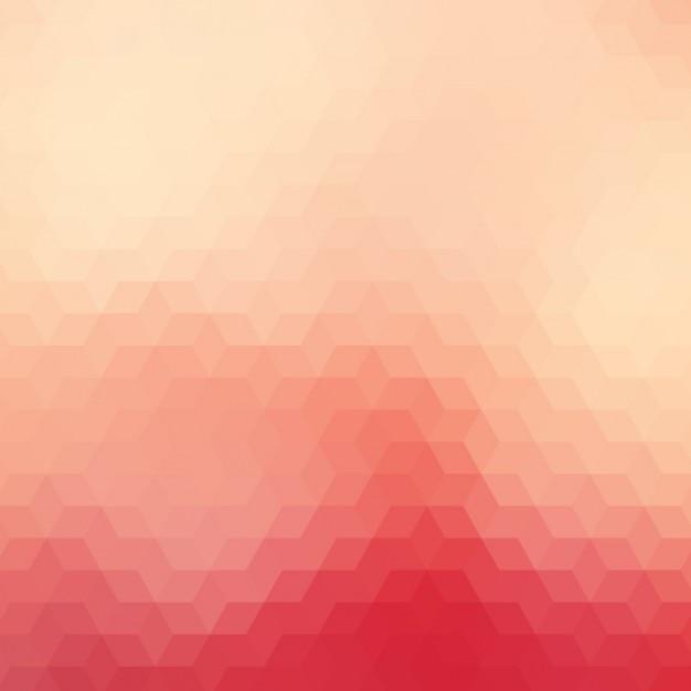 Geometria Tła W Różnych Odcieniach Czerwieni Darmowych Wektorów