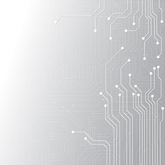 Geometryczna technologia high tech Premium Wektorów