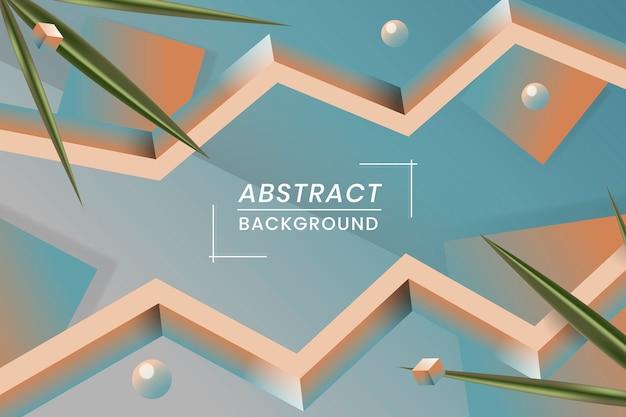 Geometryczne abstrakcyjne tło Darmowych Wektorów