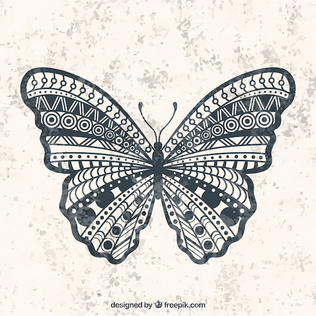 Geometryczne Motyl Premium Wektorów