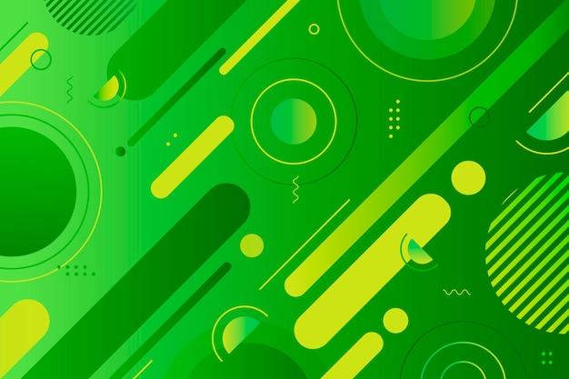 Geometryczne streszczenie zielone tło Darmowych Wektorów